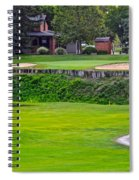 Elevated Green Spiral Notebook