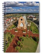 Elevated View Of Ave Maria Oratory Spiral Notebook