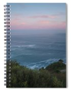 Elevated View Of Monte Igueldo Spiral Notebook