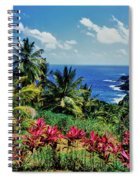 Elevated View Of Trees And Plants Spiral Notebook