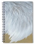 Elevated View Of Waves In Motion, Playa Spiral Notebook