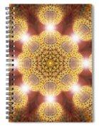 Eleven Sacred Steps Of Light K1 Spiral Notebook