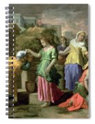 Eliezer And Rebecca At The Well Spiral Notebook
