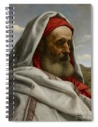 Eliezer Of Damascus Spiral Notebook