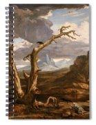 Elijah In The Desert Spiral Notebook