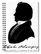 Elijah Parish Lovejoy (1802-1837) Spiral Notebook