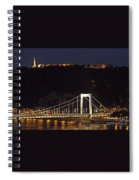 Elisabeth Bridge Budapest Spiral Notebook