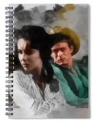 Elizabeth And James - Giant Spiral Notebook