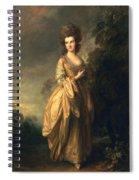 Elizabeth Beaufoy, Later Elizabeth Spiral Notebook