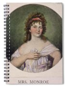 Elizabeth Monroe (1768-1830) Spiral Notebook