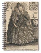 Elizabeth, Queen Of England, C.1603 Spiral Notebook