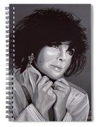 Elizabeth Taylor Spiral Notebook