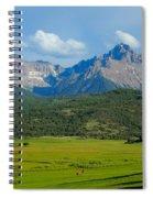 Elk Below Mount Sneffels Spiral Notebook