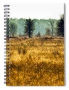 Elk In The Distance No. 1 Spiral Notebook