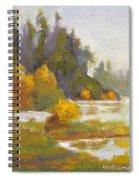 Elk Island 3 Spiral Notebook
