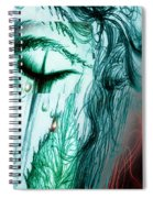 Ella En Invierno Spiral Notebook