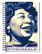 Ella Fitzgerald Portrait Spiral Notebook