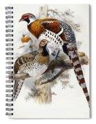 Elliot's Pheasant Spiral Notebook