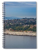 Elliott Bay Marina Spiral Notebook