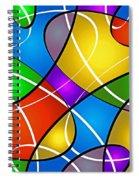 Elliptical Spiral Notebook