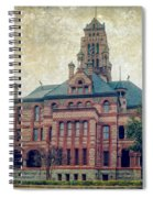 Ellis County Courthouse Spiral Notebook