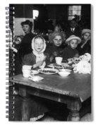 Ellis Island, 1920 Spiral Notebook