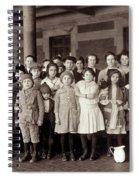 Ellis Island, C1908 Spiral Notebook
