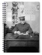Ellis Island: Testing, C1914 Spiral Notebook
