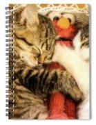 Elmos Nap Time---soft Look Spiral Notebook