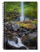 Elowah Falls Spiral Notebook