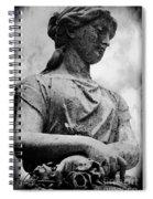 Elsa Statue I Spiral Notebook
