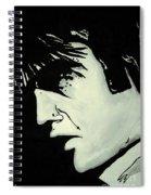 Elvis.     The King Spiral Notebook