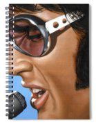 Elvis 24 1970 Spiral Notebook