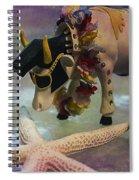 Elvis In Blue Hawaii Spiral Notebook