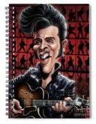 Elvis In Memphis Spiral Notebook