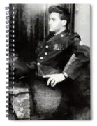 Elvis In Uniform Spiral Notebook