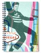 Elvis Jailhouse Rock Spiral Notebook