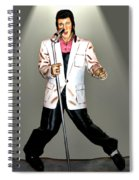 Elvis Spiral Notebook