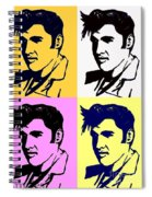 Elvis Pop X Four Spiral Notebook