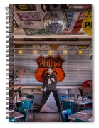 Elvis Presley At Albuquerque's 66 Diner Spiral Notebook