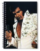 Elvis Presley Painting Spiral Notebook