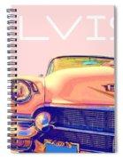 Elvis Presley Pink Cadillac Spiral Notebook