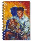 Elvis Presley- Shadow Duet Spiral Notebook