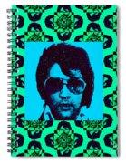 Elvis Presley Window P128 Spiral Notebook