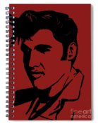 Elvis The King Spiral Notebook