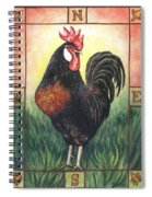 Elvis The Rooster Spiral Notebook