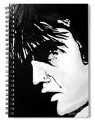 Elvis The Show Must Go On Spiral Notebook