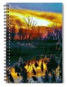 Emagin Sunset Spiral Notebook