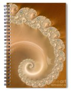 Embellished Blond Wood Spiral Notebook
