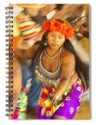 Embera Villagers In Panama Spiral Notebook